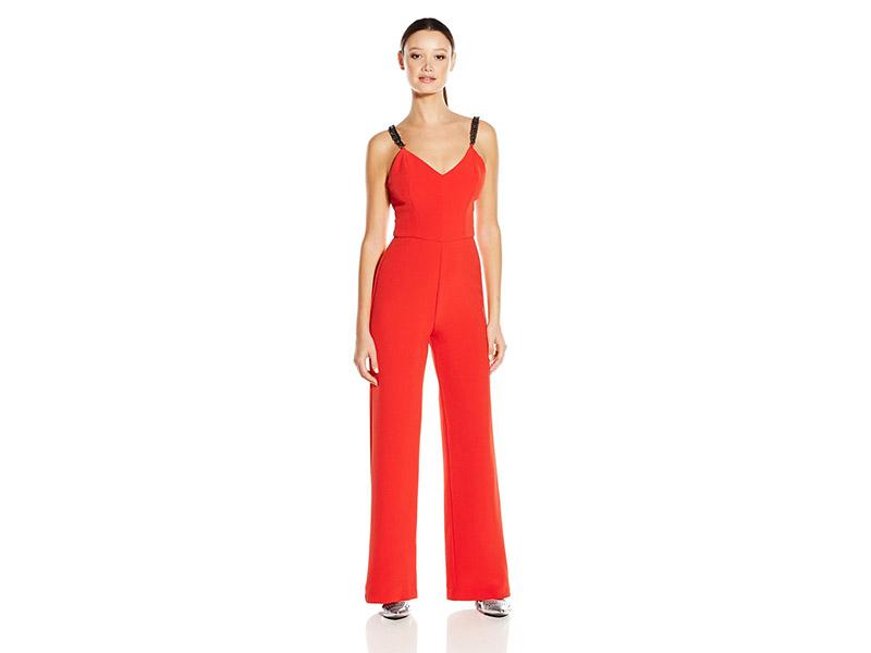 XOXO Embellished Strap Jumpsuit