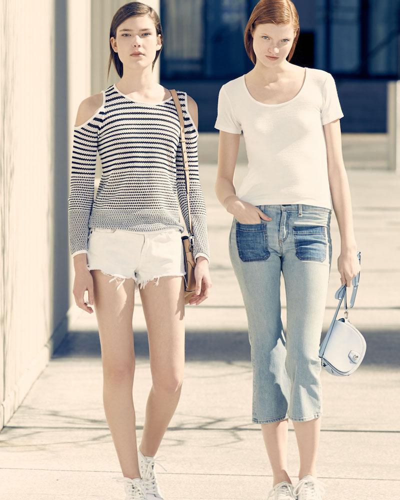 rag & bone JEAN Cutoff Denim Shorts