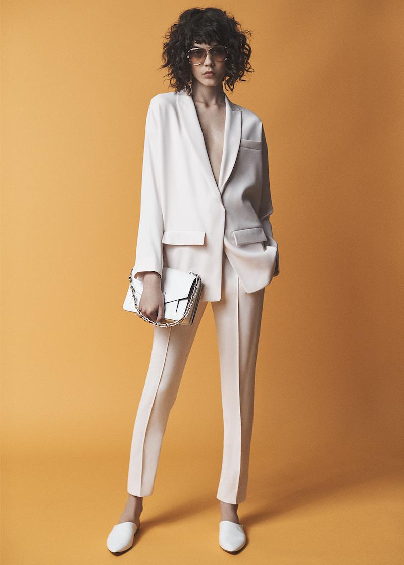 Alexandre Vauthier Japanese Crepe Oversize Blazer
