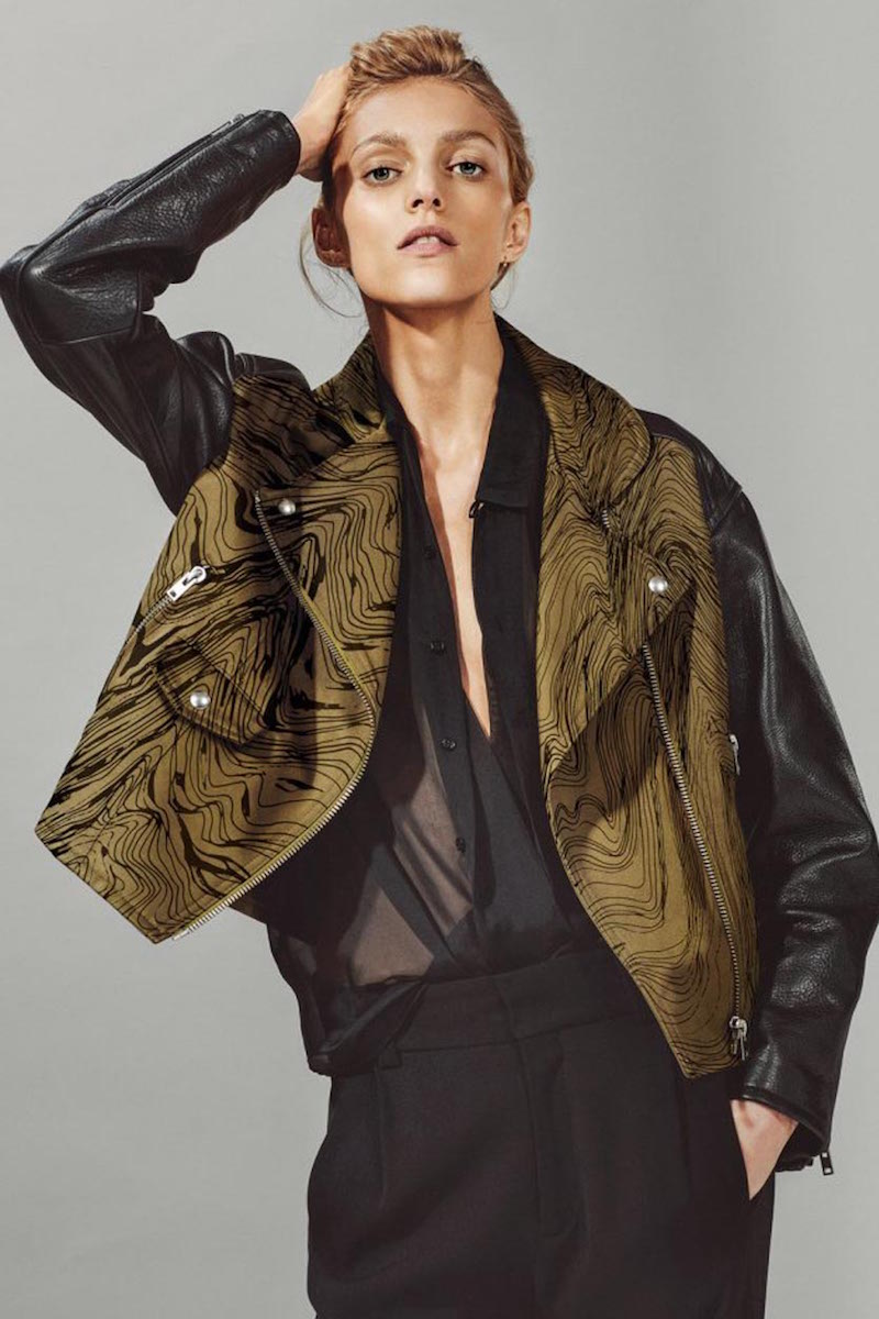 Anja Rubik x IRO Capsule Collection_2