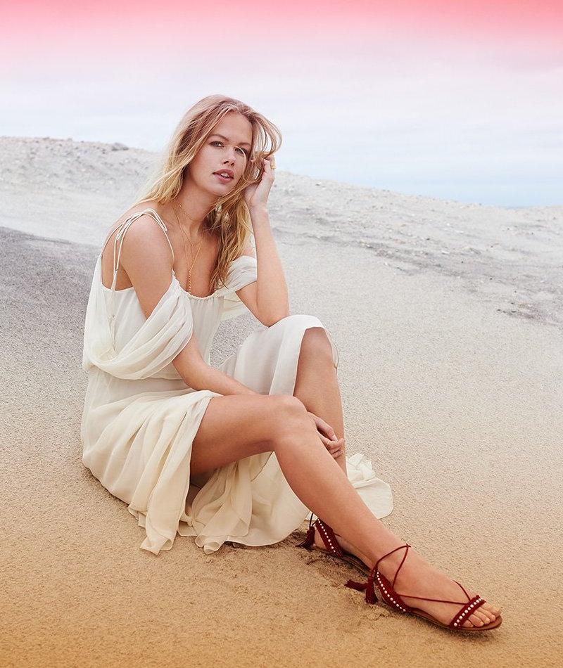 Aquazzura Careyes Flat Sandals