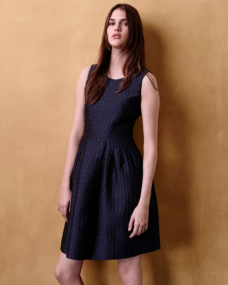 Armani Collezioni Sleeveless Fit-&-Flare Dress