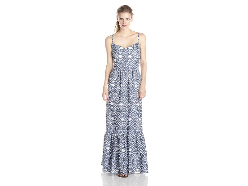 Betsey Johnson Printed Maxi Dress