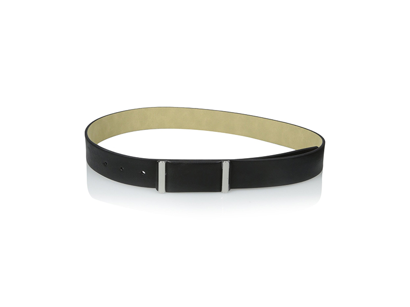 Big Buddha Classic Contemporary Plaque Pant Belt