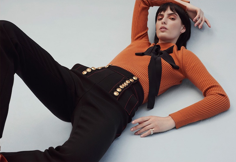 Burberry Prorsum Button-embellished High-rise Trousers
