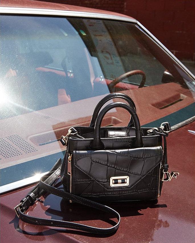 Diane von Furstenberg 440 Gallery Large Secret Agent Tote