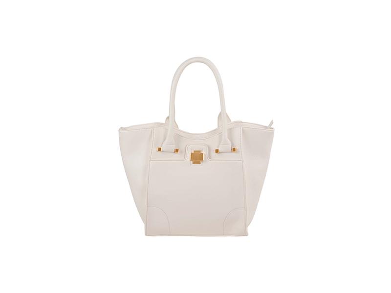 FASH Classic Gold Embelllished Tote Handbag