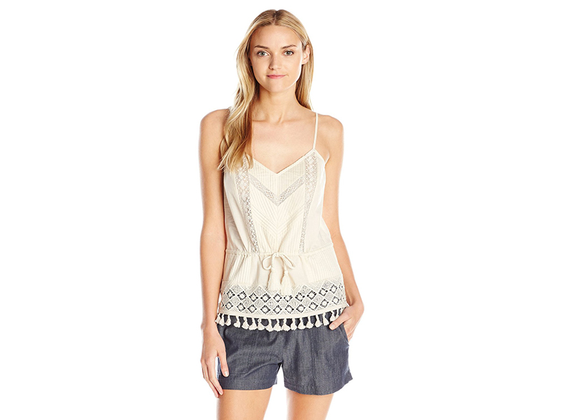 French Connection Florence Lace Strappy Top