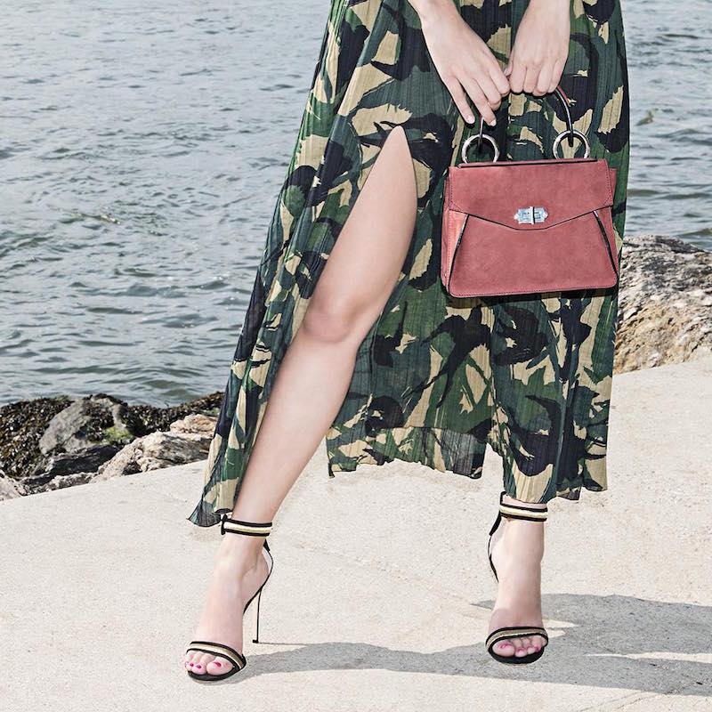 Gianvito Rossi Portofino Contrast-trim Suede Sandals