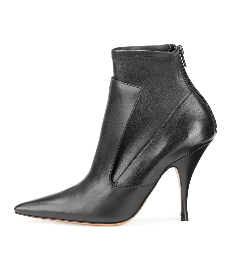Givenchy Lux Leather Layered Ankle Boot