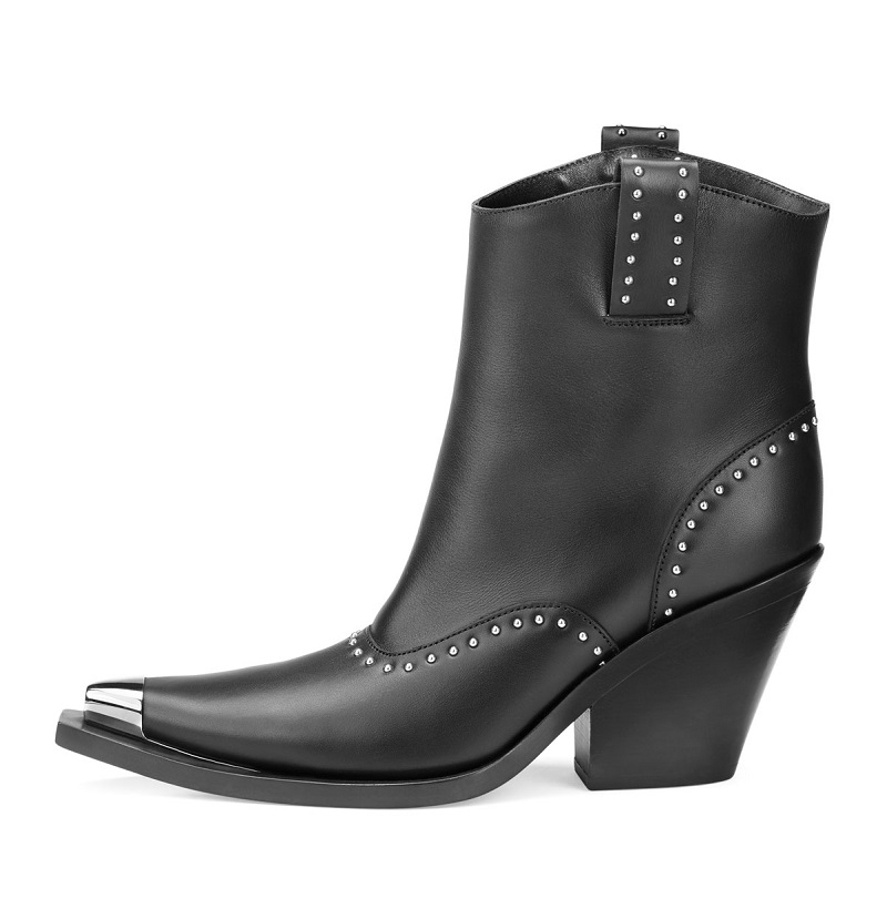 Givenchy Studded Leather Western Boot