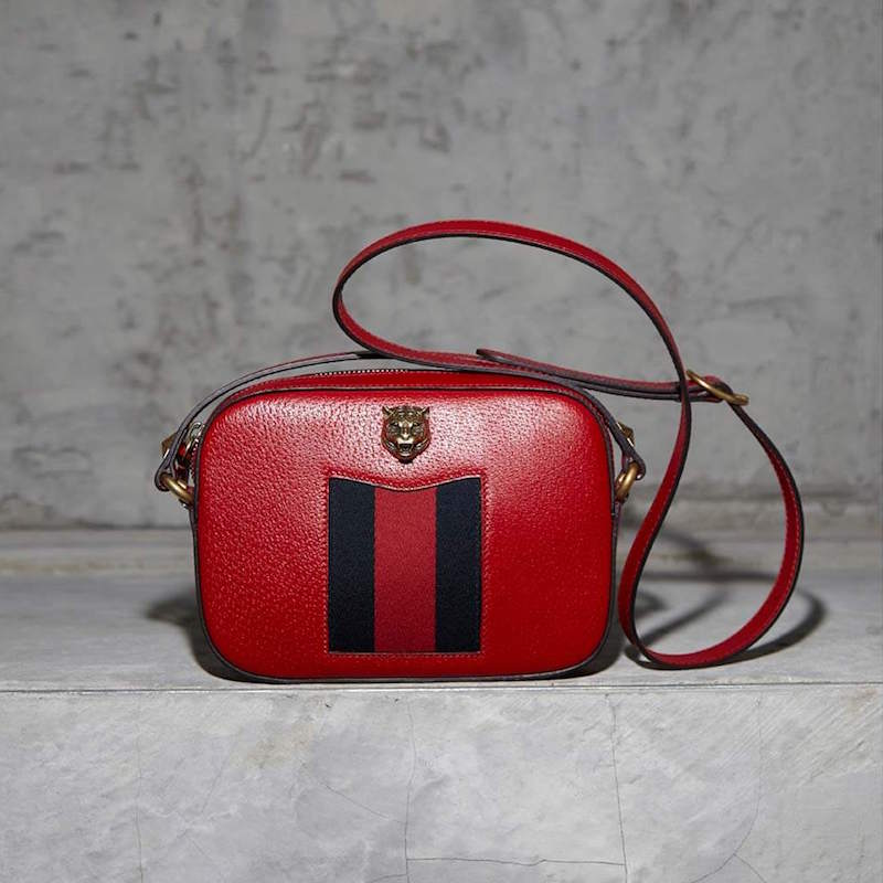 Gucci Animalier Tiger Emblem Crossbody Bag