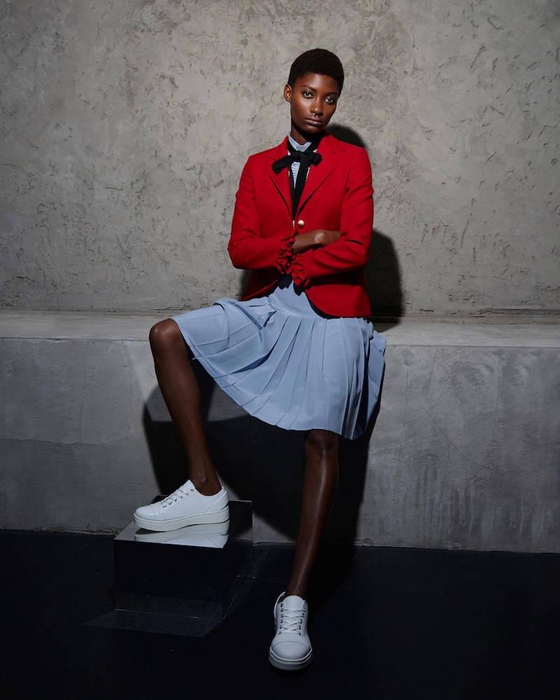 Gucci Ruffled Blazer Jacket