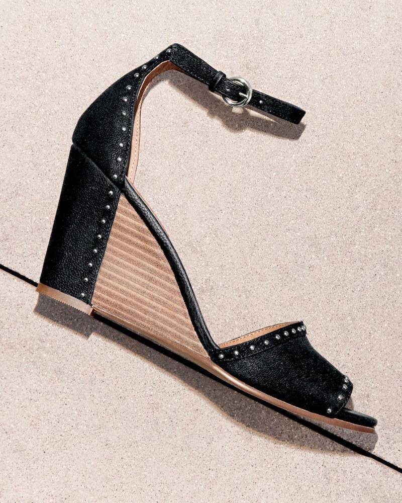 Halogen Louise Studded Wedge Sandal