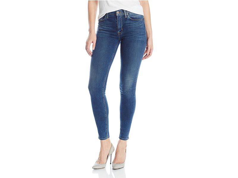 Hudson Barbara High Waisted Skinny In Moonlit