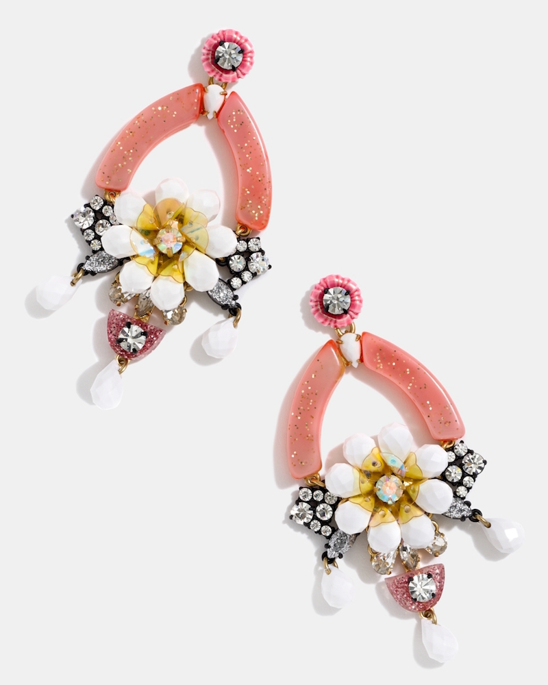 J.Crew Floral Earrings