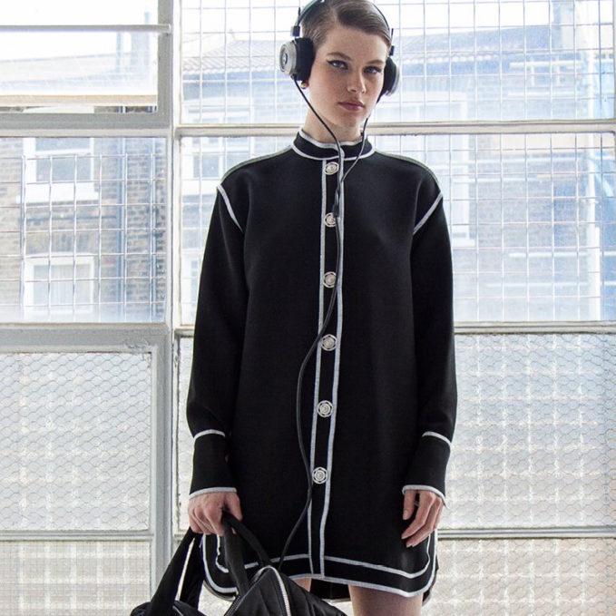 J.W. Anderson Reverse Seam Shirt Dress