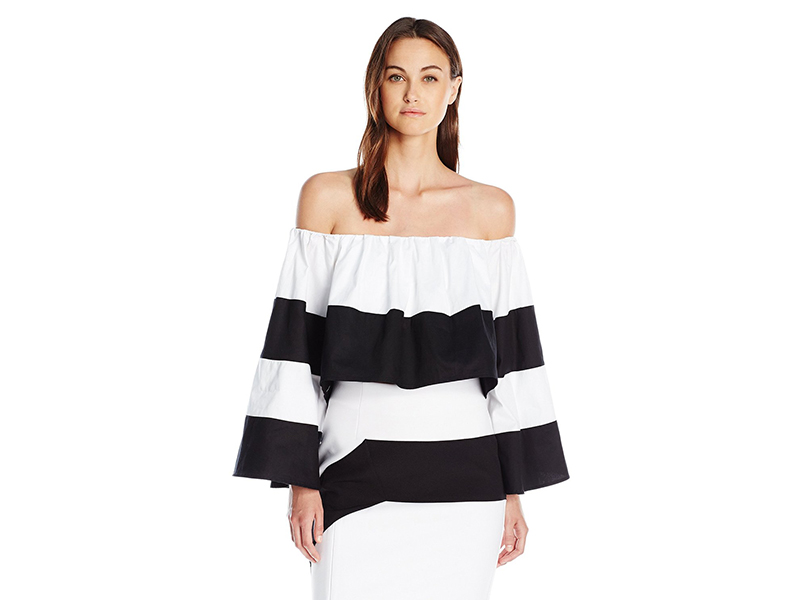 KENDALL + KYLIE Off Shoulder Ruffle Top