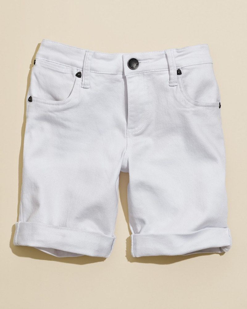KUT from the Kloth Catherine Denim Boyfriend Shorts_1