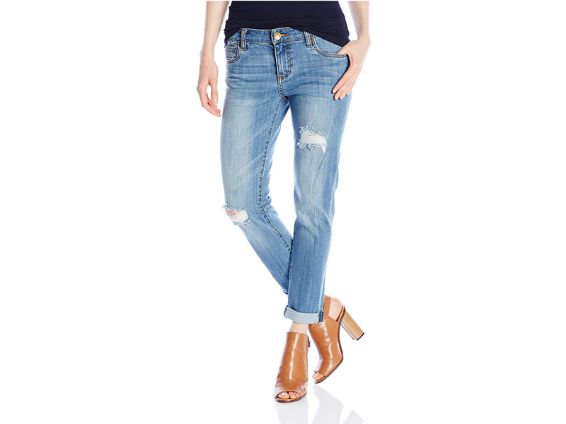 KUT from the Kloth Catherine Slim Boyfriend Jean In Astonish