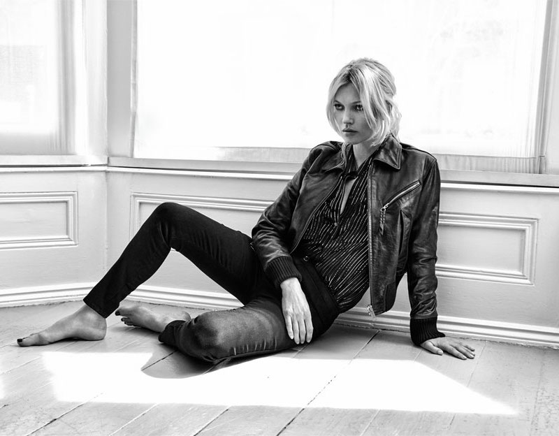 Kate Moss for Equipment Daddy Metallic Striped Silk-chiffon Shirt