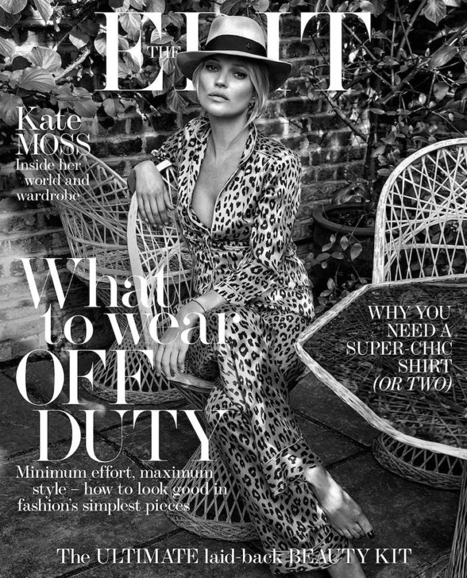 Kate The Great: Kate Moss for The EDIT