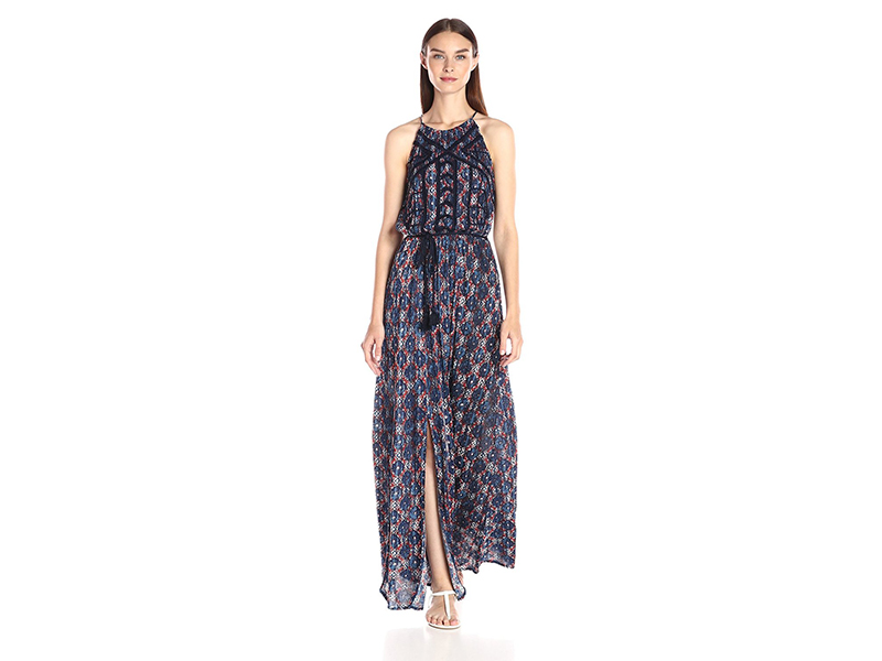 Lucky Brand Printed Maxi Dress