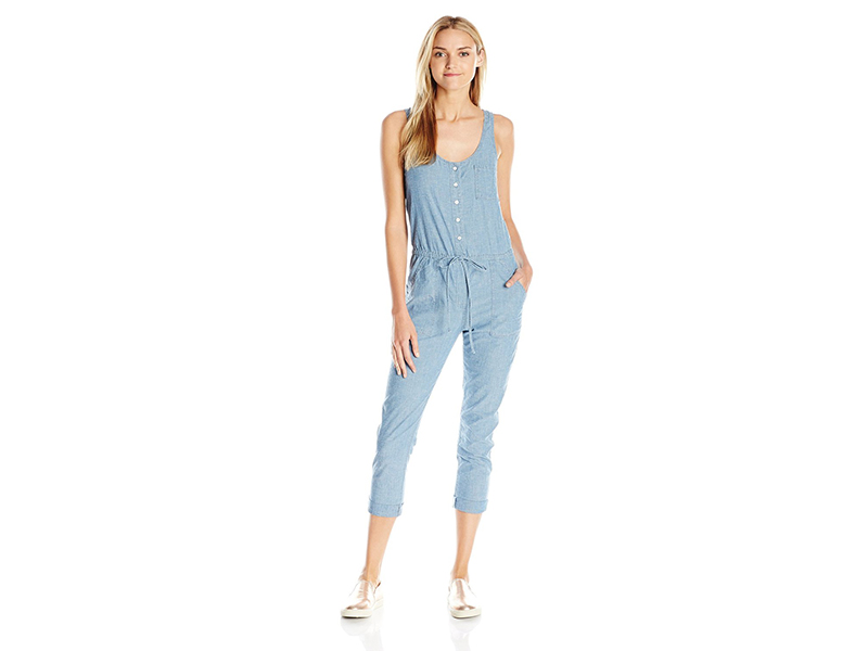 Lucky Brand Sleeveless Jumpsuit