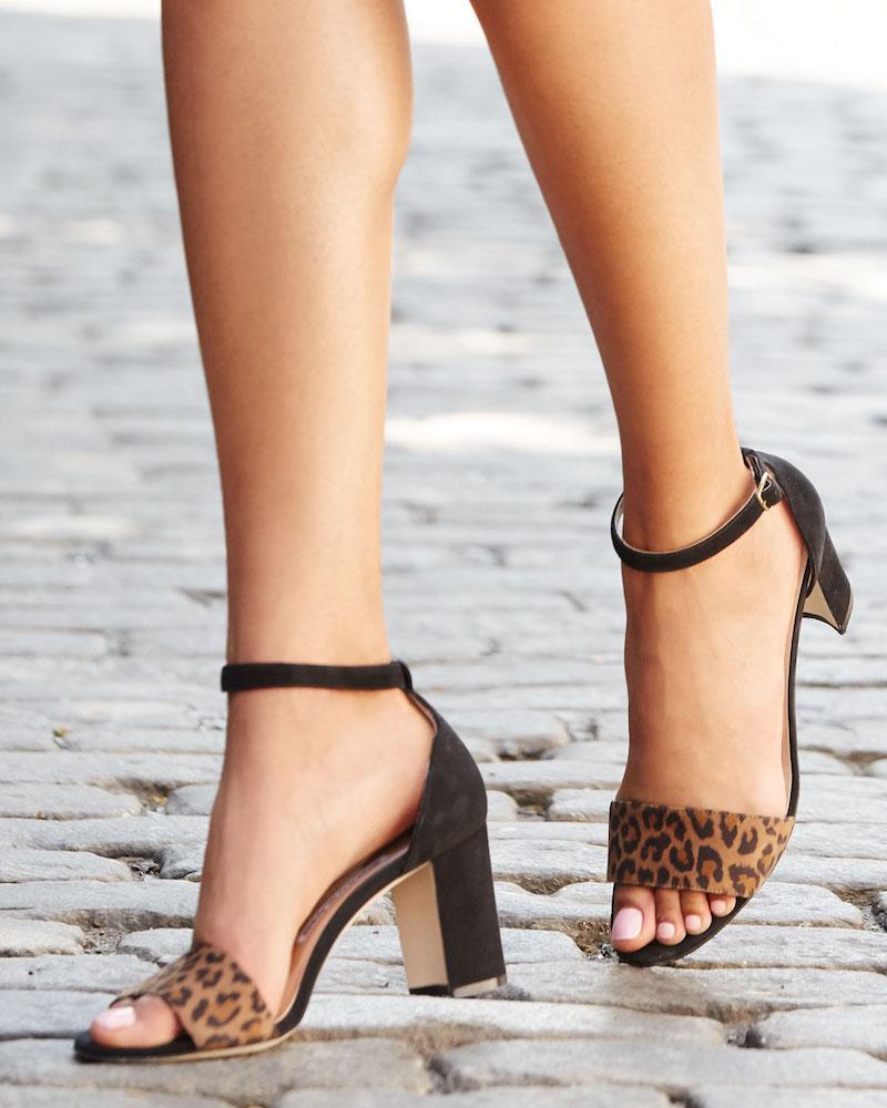 Manolo Blahnik Lauratomod Suede Ankle-Wrap Sandal