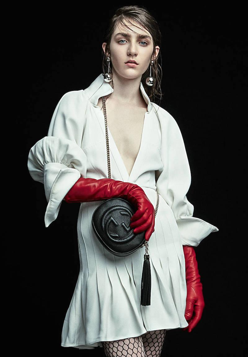 Marni Ruffled Pockets Cotton Blend Crepe Dress