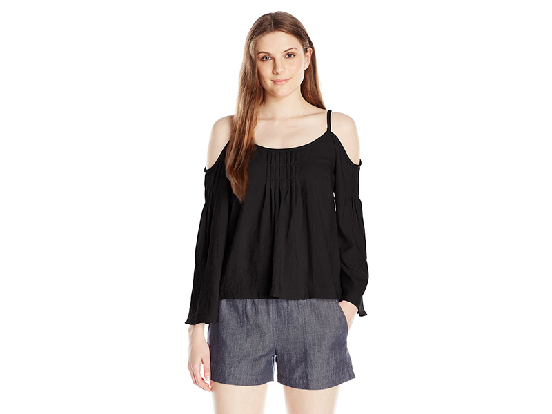 Nanette Lepore Sultry Shoulder Top