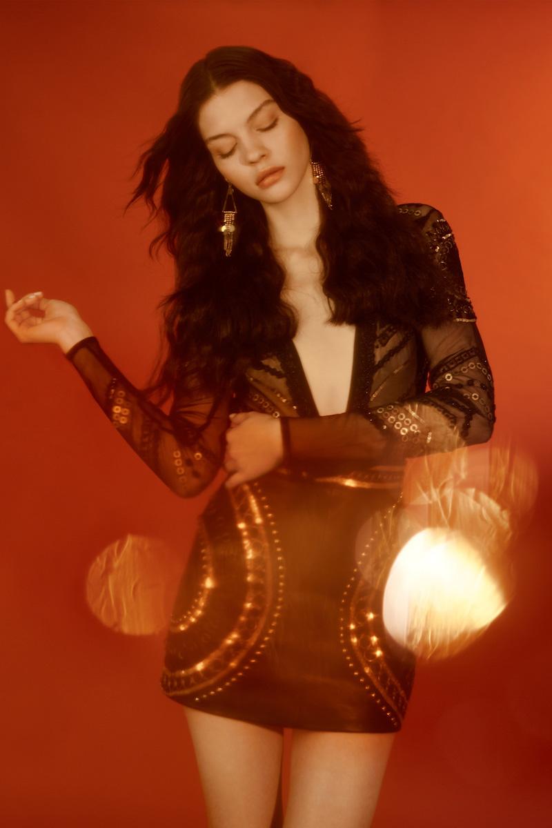 Nasty Gal Salma Embellished Bodysuit