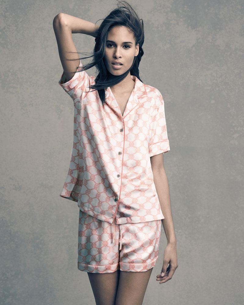 Natori Geo-Print Shortie Pajama Set