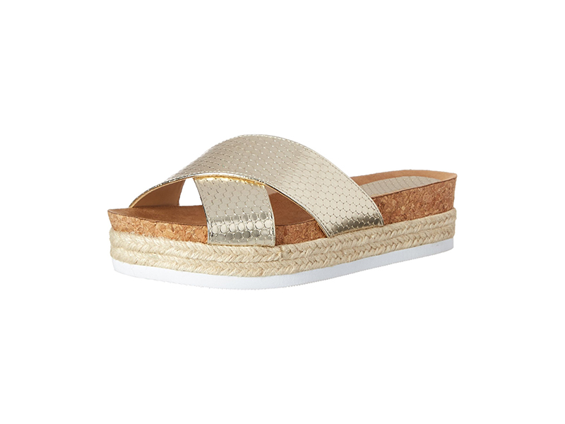 Nine West Amyas Synthetic Platform Sandal