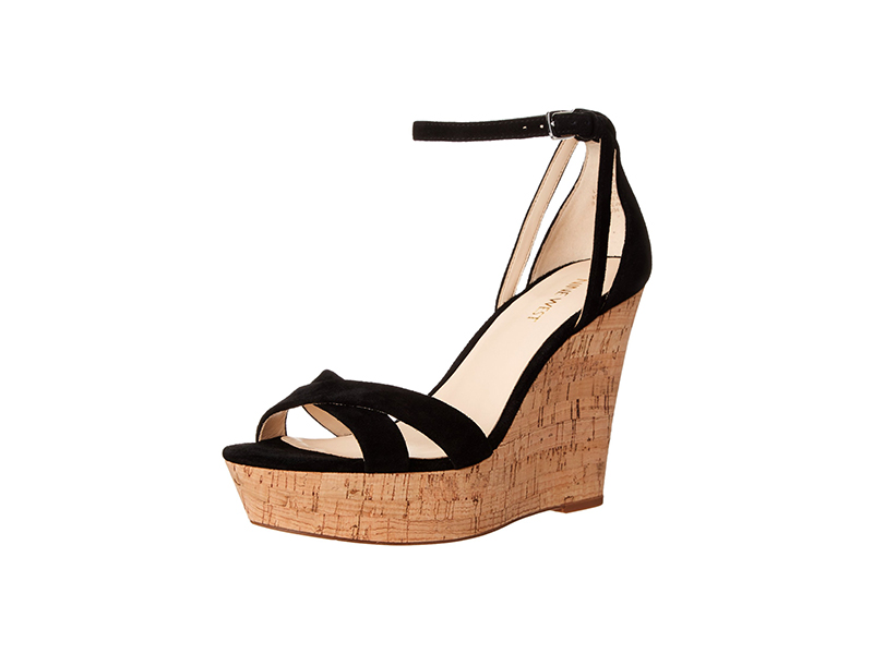 Nine West Joker Suede Wedge Sandal