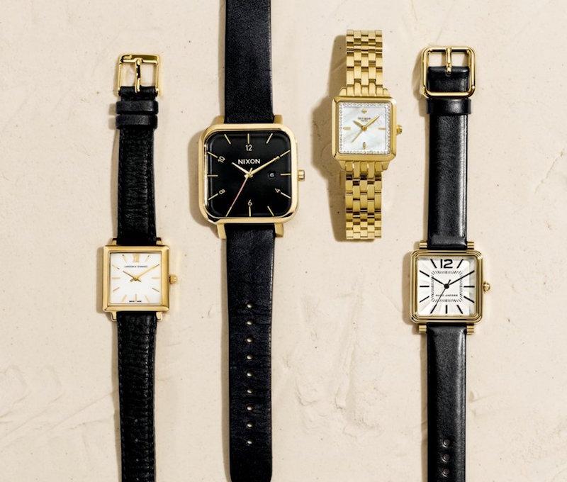 Nixon Ragnar 40mm Leather Strap Watch