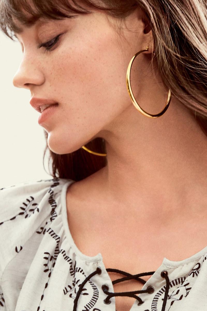 Nordstrom Graduated Hoop Earrings