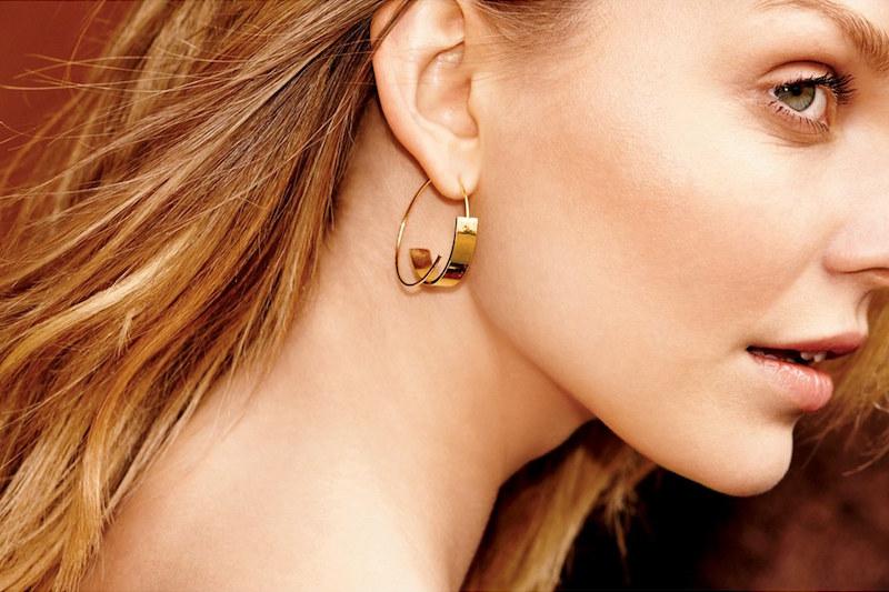 Nordstrom Threader Hoop Earrings