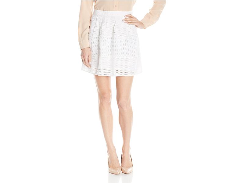 Olive & Oak Eyelet Skirt