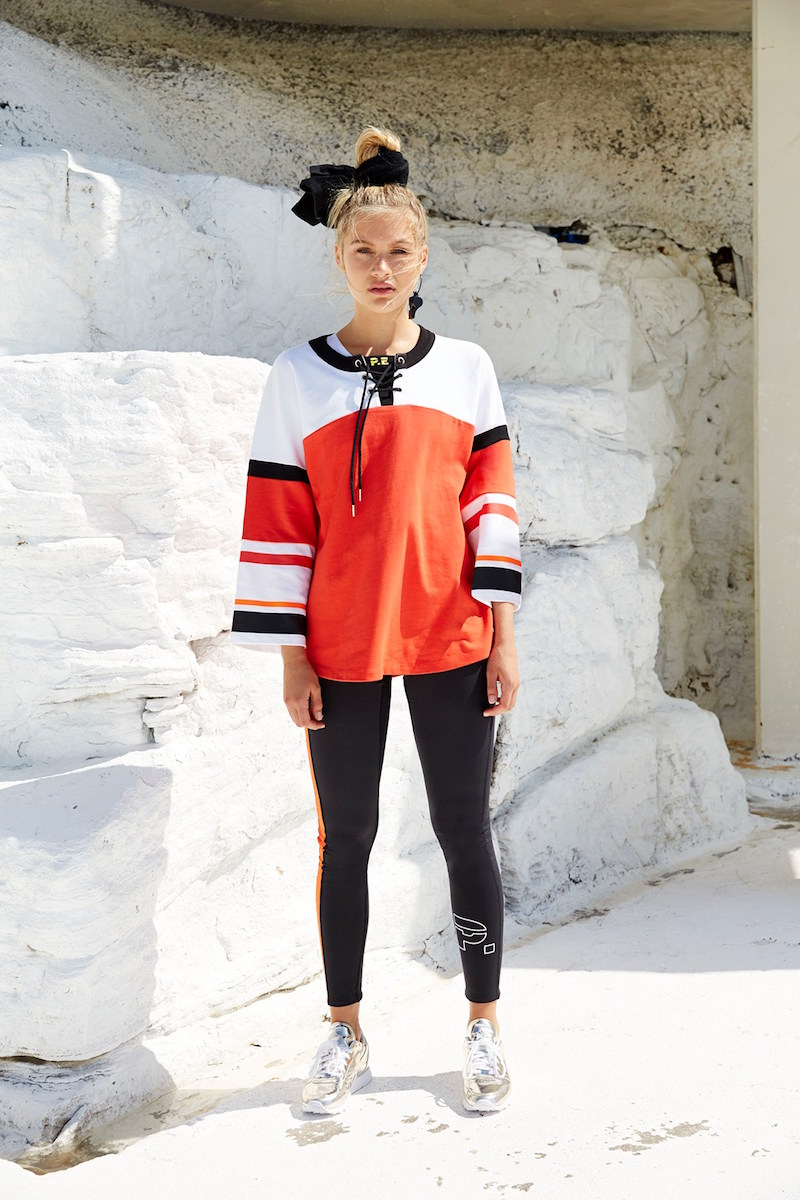 P.E Nation Red Rocket Cotton Sweatshirt