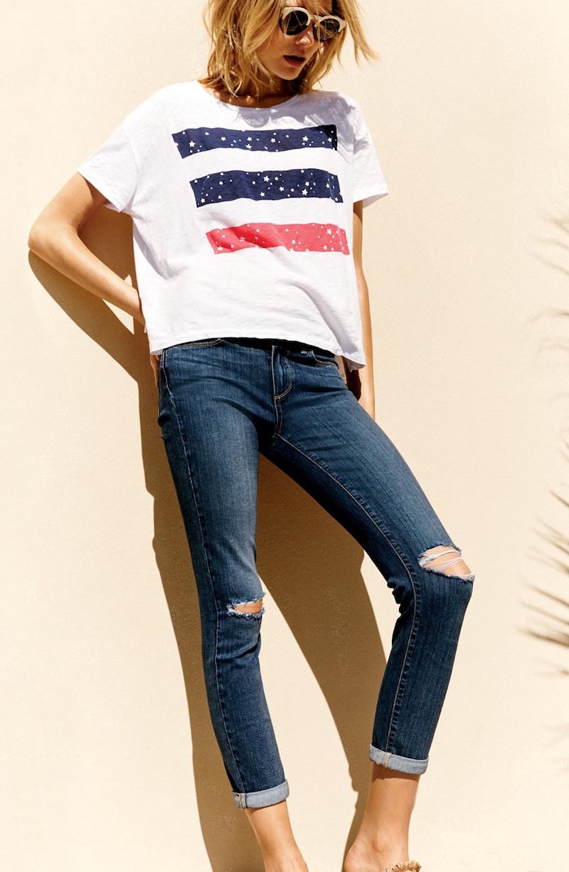 Paige Denim Transcend Skyline Crop Jeans
