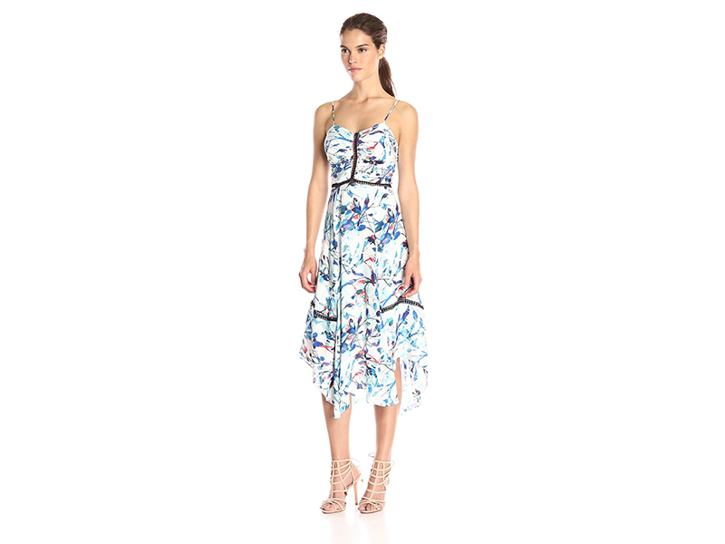 Parker Daisy Combo Dress