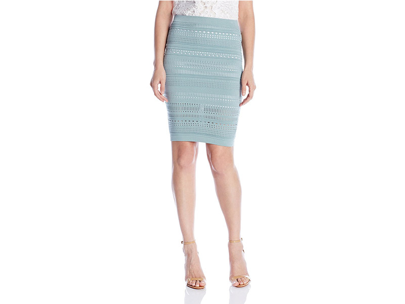 Parker Woodbury Knit Skirt