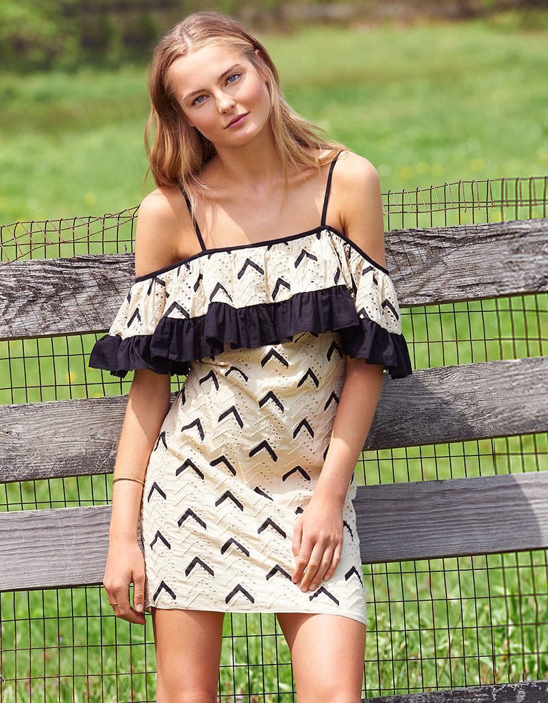 Pepin Zadie Ruffle Dress