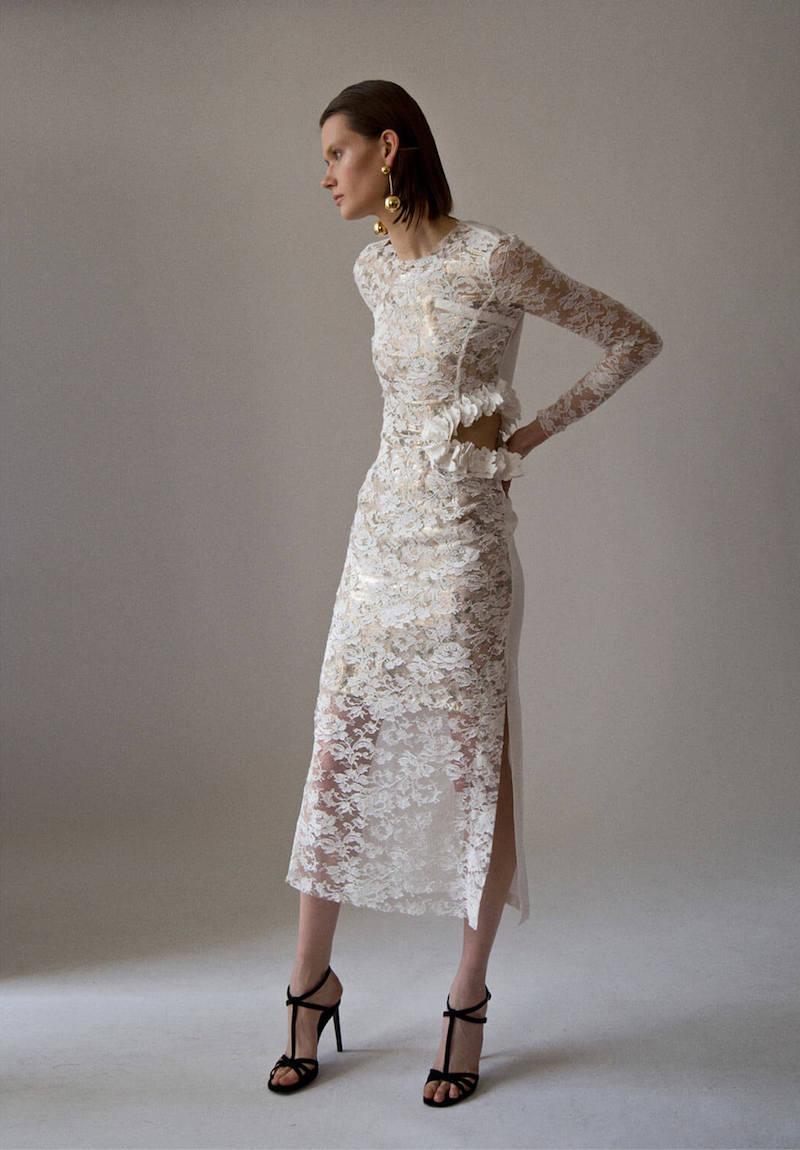 Preen by Thornton Bregazzi Galen Long Lace Dress