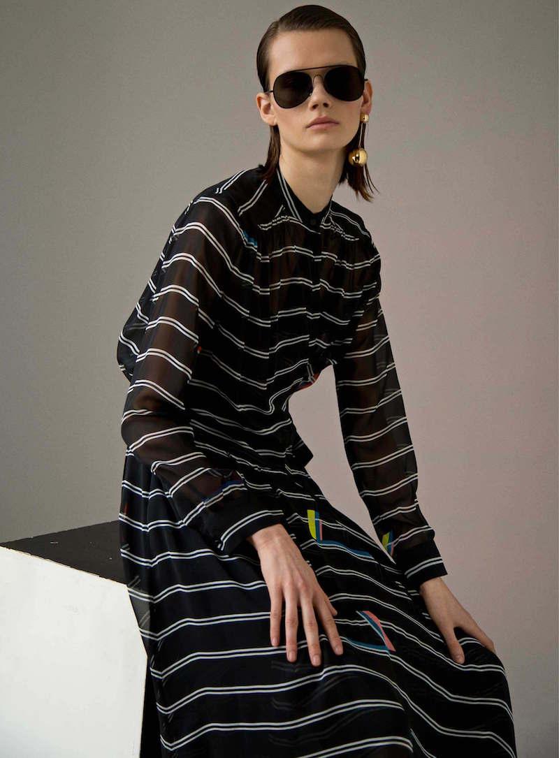 Preen by Thornton Bregazzi Juliana Silk Belted Dress