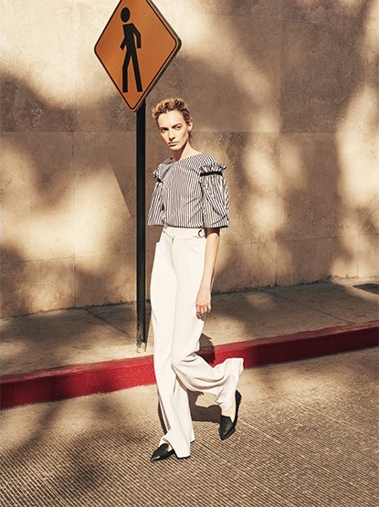 Proenza Schouler High-rise Flared Trousers