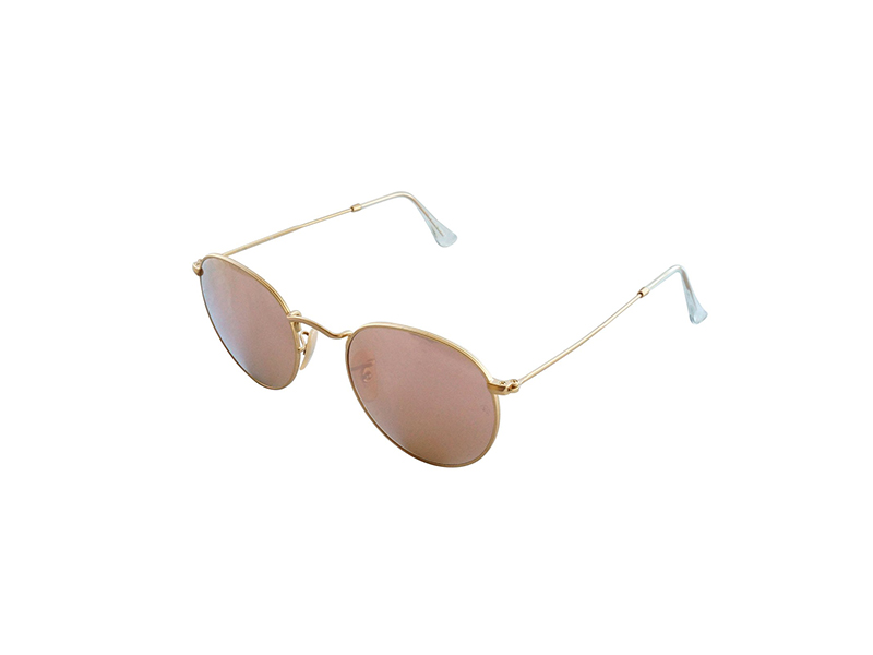 Ray-Ban Round Metal Cateye Sunglasses