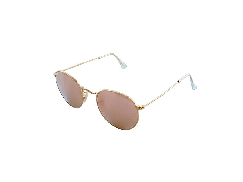 Ray-Ban Round Metal Cateye Sunglasses
