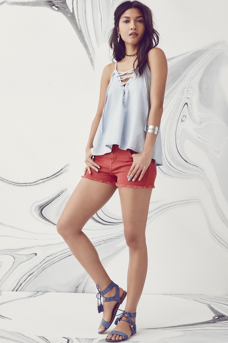 STS Blue High Waist Cutoff Shorts